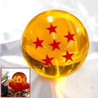 Acrylic Dragonball Replica Ball (Large/6 Stars)