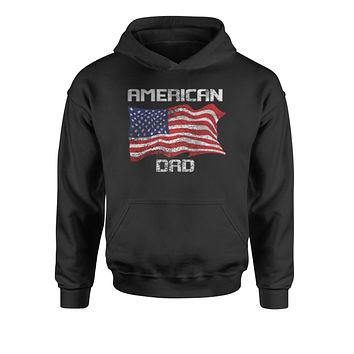 American Dad USA Flag Youth-Sized Hoodie