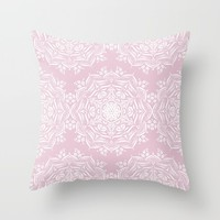 Lotus and Blush Art Print by Lisa Argyropoulos