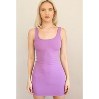 All About It Ribbed Bodycon Dress