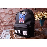 MOSCHINO TEDDY BEER LEATHER BACKPACK BAG