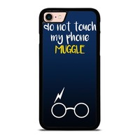 HARRY POTTER MUGGLE DO NOT TOUCH MY PHONE iPhone 8 Case
