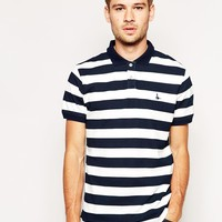 Jack Wills Aldgrove Stripe Polo Shirt
