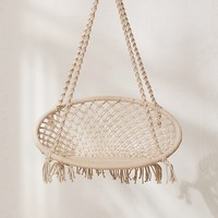 Meadow Macrame Hanging Chair | Urban Outfitters