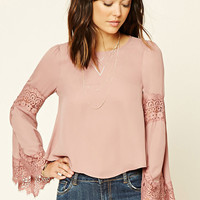 Contemporary Eyelash Lace Top