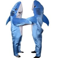 adult shark costume animal cosplay Mascot unisex