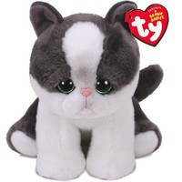 Ty® Beanie Babies Yang Cat Stuffed Animal, 6""