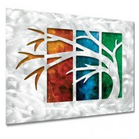 All My Walls In Living Color III Wall Sculpture - MAD00205 - All Wall Art - Wall Art & Coverings - Decor