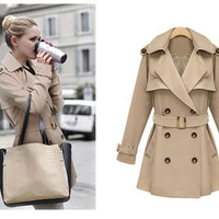 A 082803 aaa Double-breasted overcoats Department from MegaFashion