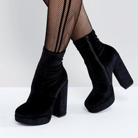 Steve Madden Stardust Heeled Ankle Boots at asos.com