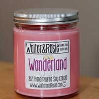 Wonderland 8oz. Soy Candle - vegan - Disney inspired