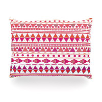 "Nika Martinez ""Summer Breeze"" Oblong Pillow"