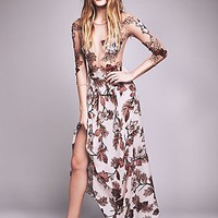 For Love & Lemons Womens Sierra Maxi Dress