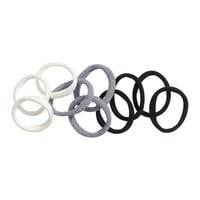 H&M - 10-pack Hair Elastics - Black - Ladies