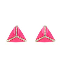 RS Accented Cab Pop Stud Earring