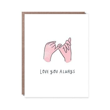 Pinky Promise Card