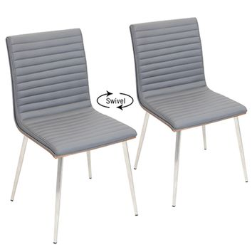 Mason Chair with Swivel - Set of 2