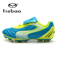 TIEBAO Professional Outdoor Football Boots Children Kids Boys Training Soccer Shoes Teenagers HG & AG Soccer Cleats Sneakers