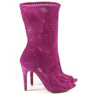 slouch boot sira pink-purple | pedro garcia official online store