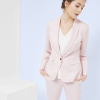 Pastel tailored jacket - Baby Pink   Suits   Ted Baker
