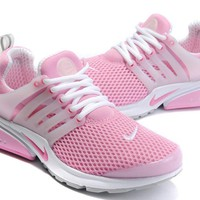 Tagre™ NIKE trend of running shoes casual shoes Pink white
