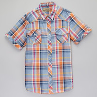 Rust Plaid Western Button-Up - Men | Daily deals for moms, babies and kids