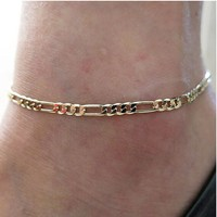 Shiny Ladies New Arrival Jewelry Cute Sexy Gift Accessory Stylish Creative Silver Chain Anklet [6042913793]