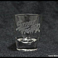 Street Fighter Shot Glass