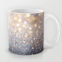 Glimmer of Light (Ombré Glitter Abstract) Mug by soaring anchor designs ⚓ | Society6