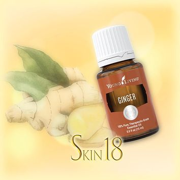Ginger Essential Oil Single