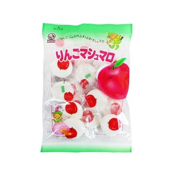 Japanese Marshmallow Candy with Apple Pudding, 2.8 oz. (80g)