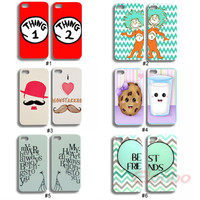 2 x Cute Lovely Sweet Lovers Couple Rigid Case Cover Skin For iPhone 4 4G 4S