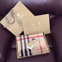 'BURBERRY' women's fashion shawl scarf F