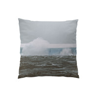 Throw Pillows for Couches / Crashing Icebergs by Lars Focke
