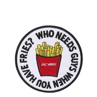 Fries Iron-On Patch by Jack Vanek - Topshop