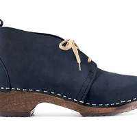 NEW! Chukka Boot - Ankle Boots - Low Heel - Nubuck Leather - Sandgrens Clogs - Men Trend - Trendy - Swedish Shoes- Fashion Footwear