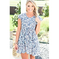 Arizona Sunset Dress - Leopard