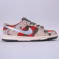 Hipgirls Nike SB Dunk Low Raygun Fashion New Hook Sports And leisure Shoes