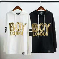 BOY Fashion Long Sleeve Casual Hooded Top Sweater Pullover Sweatshirt G-AGG-CZDL