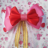 Five Nights At Freddy's Mangle Inspired Hair Bow