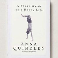 A Short Guide To A Happy Life by Anthropologie in Multi Size: One Size Books