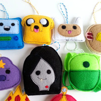 Adventure Time christmas ornaments
