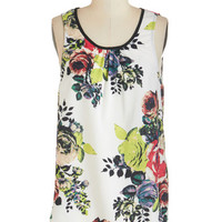 Mid-length Sleeveless This Sway Up Top