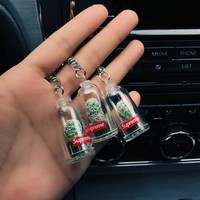 Supreme 18SS CACTUS KEYCHAIN Cactus Potted Keychains fshion wen Women Bag Key Chain Holder Plants Key Ring Bag Pendant