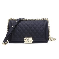 Classic Silicon Quilted Crossbody Bag Luxury Shoulder Handbags Purses For Womens Girls