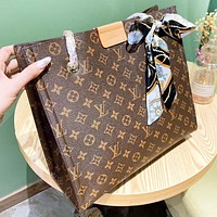 Inseva Louis Vuitton LV Fashion New Monogram Leather Chain Shopping Leisure Shoulder Bag Women Crossbody Bag