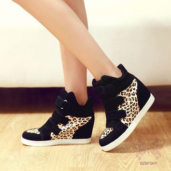 Women's increased within leopard shoes = 1945813764