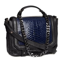 Leather Bag - from H&M