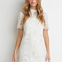 Ornate Crochet Lace Dress