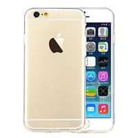 iVAPO iPhone 6 4.7inch Case, Transparent Slim Case, Ultra-thin Back Cover, Soft Flexible Case For Iphone 6 4.7inch (MM505) (Crystal Clear)